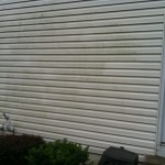 Before Picture - Vinyl Siding Powerwashing