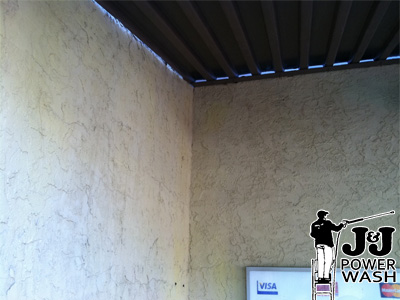How to Wash Stucco - After