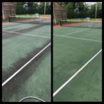 Tennis Court Washing