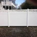 Vinyl Fence After