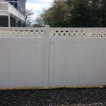 Vinyl Fence Before