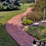 Brick Walkway After