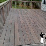 Deck Power Washing After