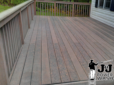 How to Power Wash your Deck