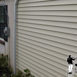 Vinyl Siding Power Washing After