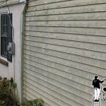 Vinyl Siding Power Washing Before