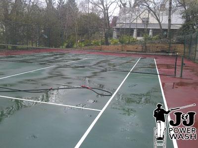 Tennis Court Power Washing South Jersey Pressure Washing