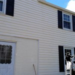 Vinyl Siding After Pressure Washing