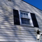 Vinyl Siding Before Pressure Washing