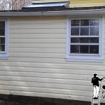 vinyl siding after powerwashing