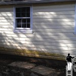vinyl siding before powerwashing