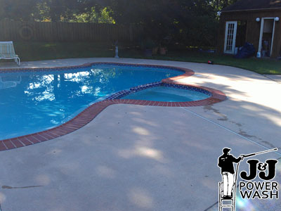 How to Power Wash a Pool - After