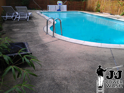 How to Power Wash a Pool