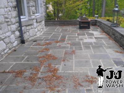 High Quality ... Power Washing Stone Patio ...