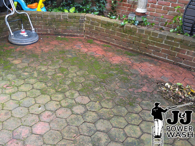 Great ... Brick Patio Pressure Washing ...
