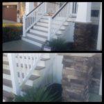 Brigantine Stairs Power Washing