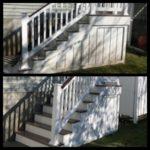 Brigantine Stairs Pressure Washing