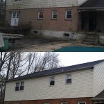 Vinyl Siding- Before & After Pressure Washing
