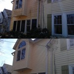 Vinyl Siding Patio Before & After