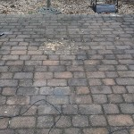 brick patio before